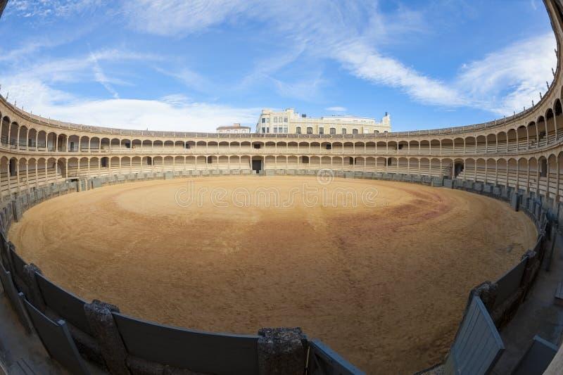 Plaza de Toros em Ronda Spain imagem de stock