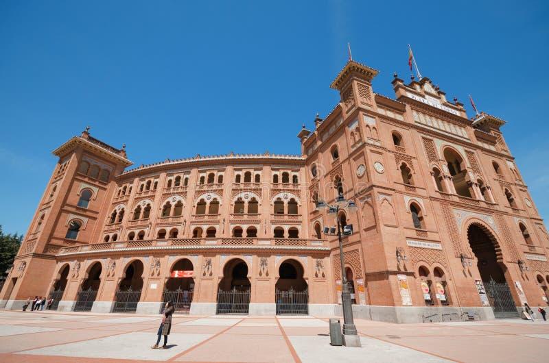 Plaza de toros de Las Ventas el 13 de abril de 2013 en Madrid, España imagen de archivo libre de regalías
