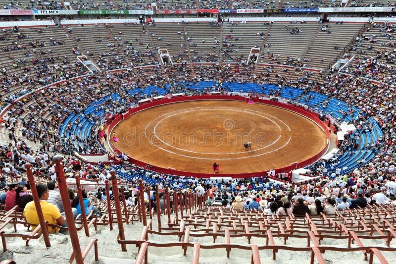 Plaza de Toros, Messico City immagini stock