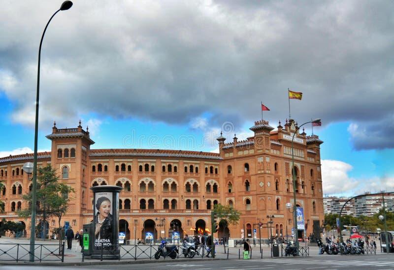 Plaza de toros Plaza de Toros de Las Ventas de Madrid foto de archivo libre de regalías