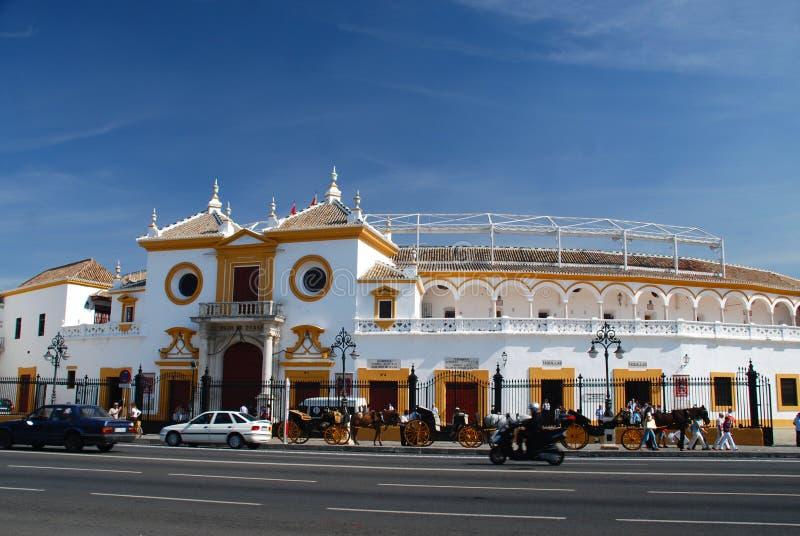 Plaza de Toros, Sevilla, Spain stock image