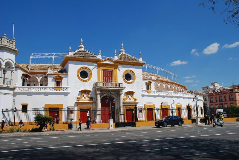 Plaza de Toros, Seville royalty free stock photography