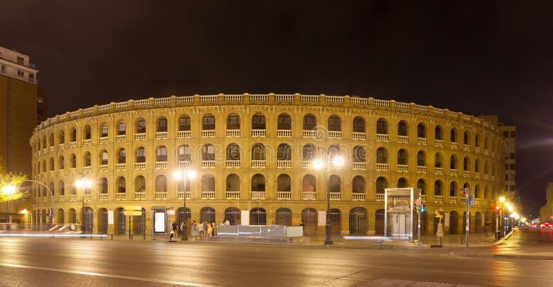 Plaza de toros in Valencia, Spain. Plaza de toros, was built in 1851. Valencia, Spain stock photography