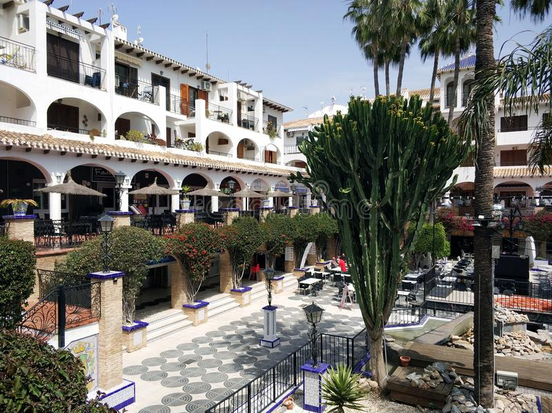 Plaza de Villamartin, España imagen de archivo