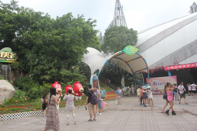 Plaza de ville de Chinois d'outre-mer de l'ASIE, CHINE, Shenzhen photos stock