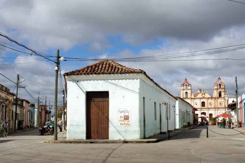 Plaza del Carmen no ¼ ey, Cuba de Camagà fotografia de stock