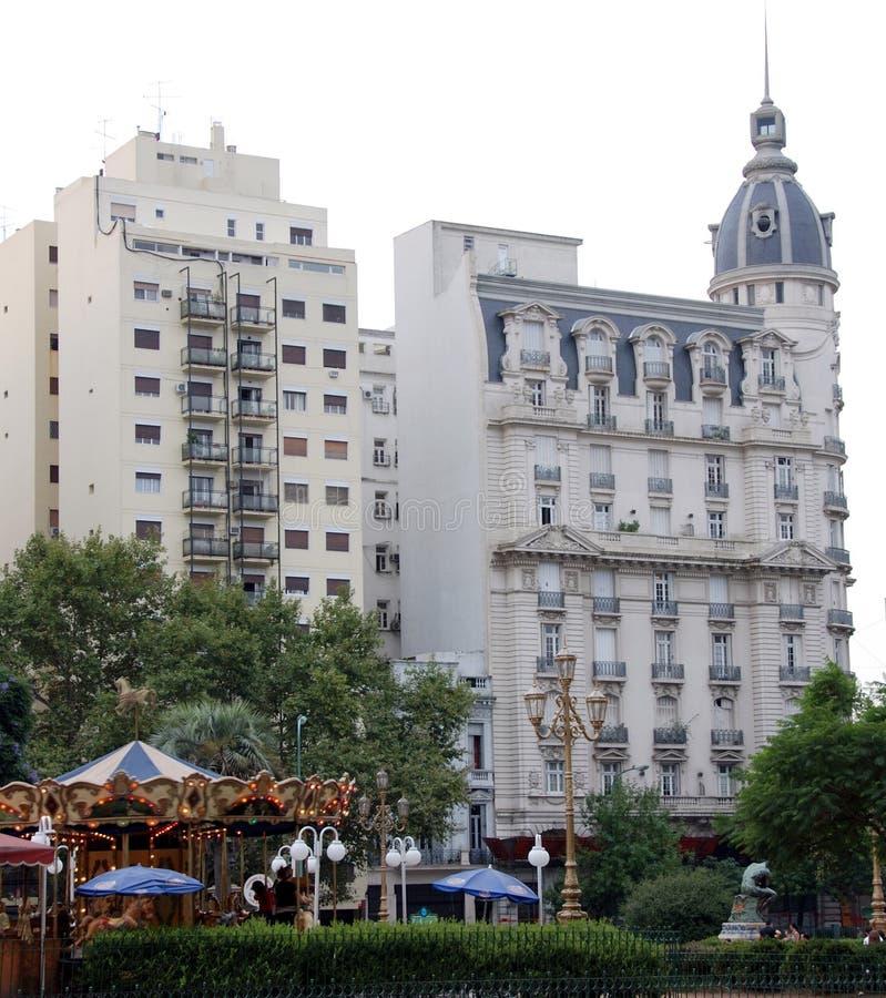 Plaza del Congreso. Buenos Aires Argentina royalty free stock photography