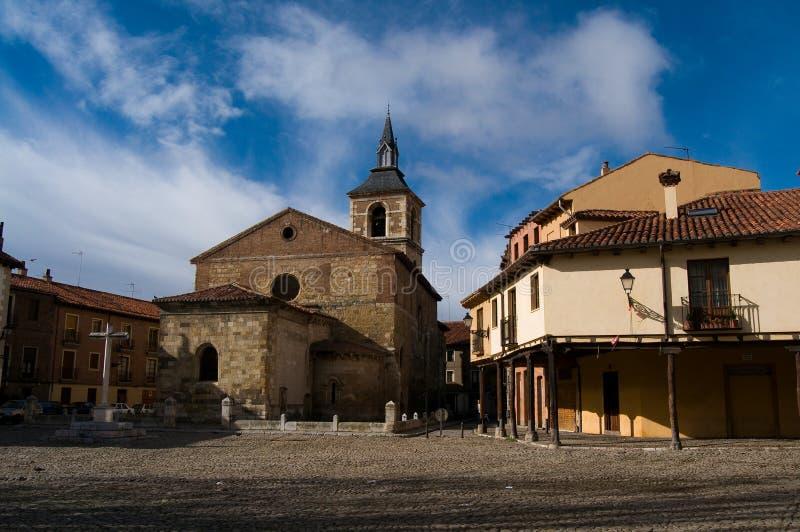 Plaza Del Grano in Leon. Spanien lizenzfreie stockfotografie