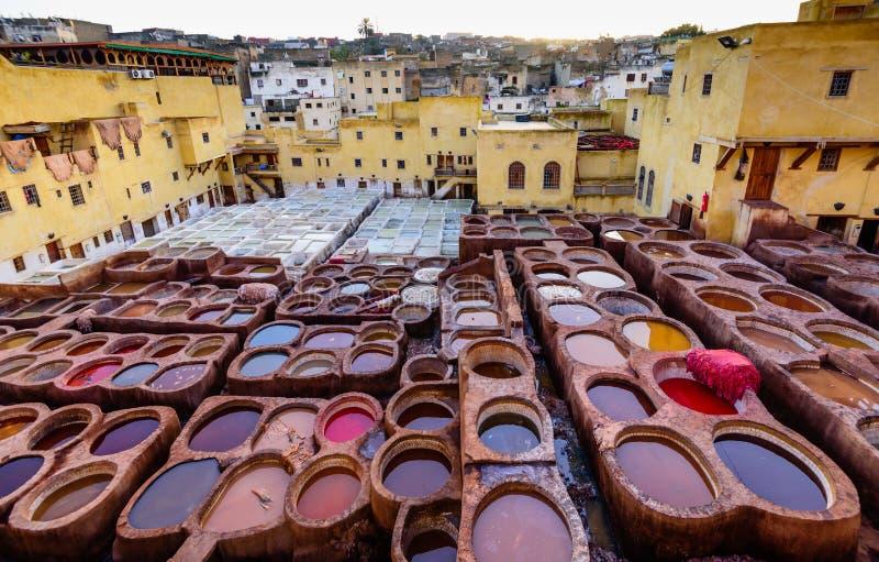 Plaza del mercado del EL Fna de Jamaa fotografía de archivo libre de regalías
