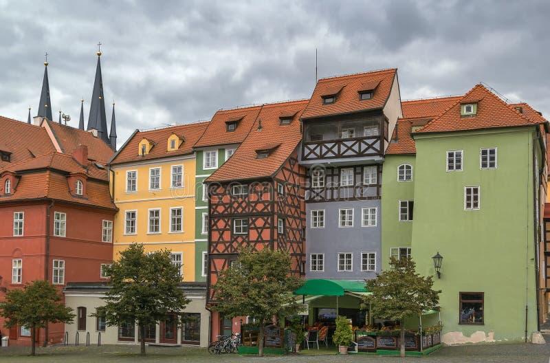 Plaza del mercado en Cheb, República Checa fotos de archivo libres de regalías