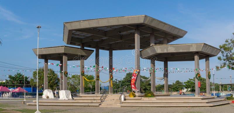 Plaza del Parque Muvdi Soledad images stock