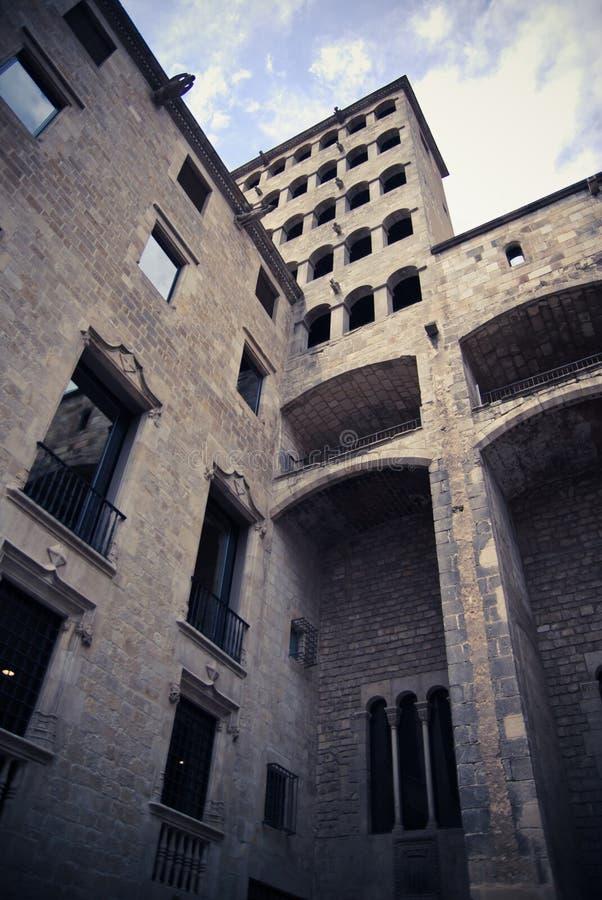 Download Plaza del Rey stock photo. Image of barcelona, medieval - 22681006