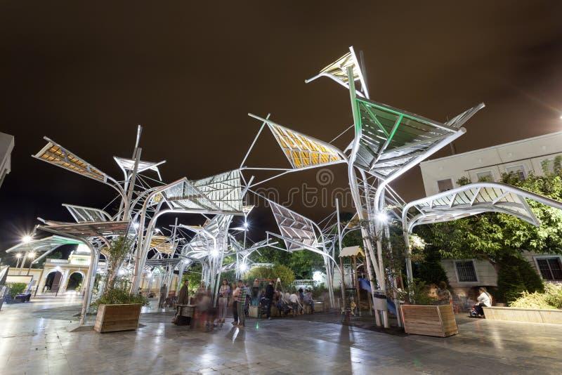 Plaza del Rey in Cartagena, Spanje stock fotografie