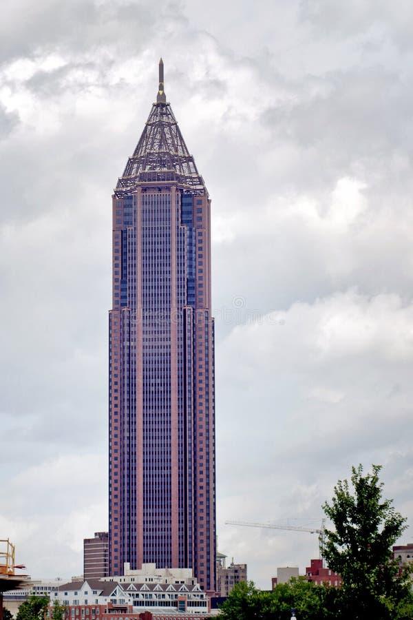 Plaza do Banco Americano em Atlanta Geórgia EUA fotos de stock