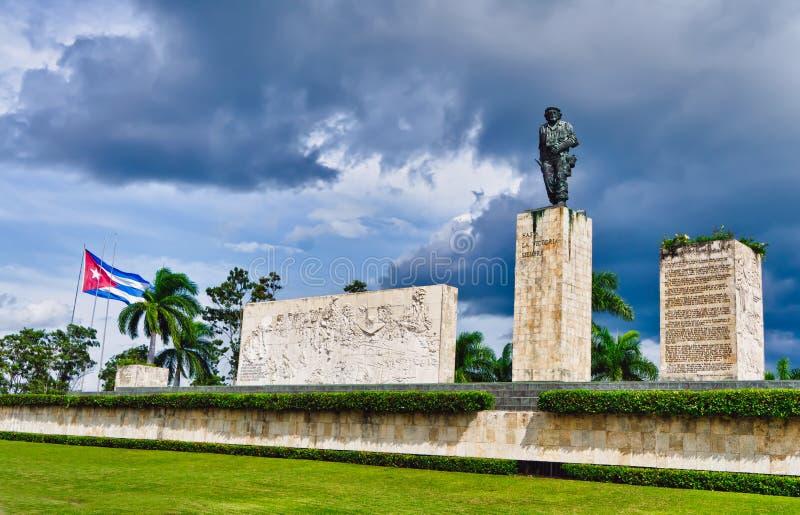 plaza för che de guevara lamonument fotografering för bildbyråer