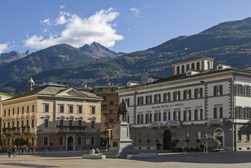 Plaza Giuseppe Garibaldi foto de archivo libre de regalías