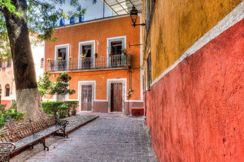 Plaza in Guanajuato, Mexiko royaltyfri foto