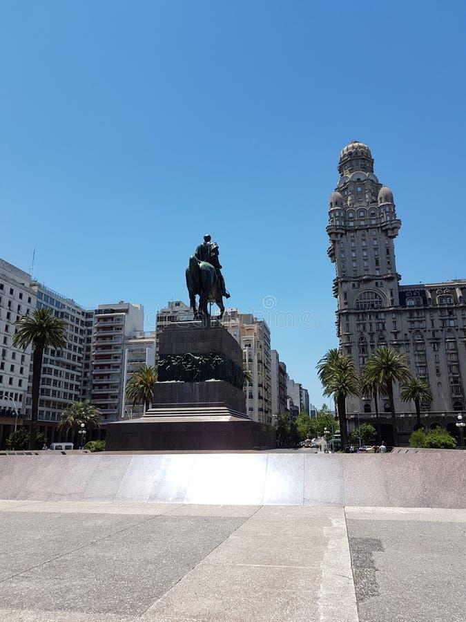 Plaza Independencia imagen de archivo libre de regalías