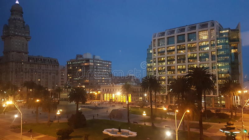 Plaza Independencia imagem de stock royalty free