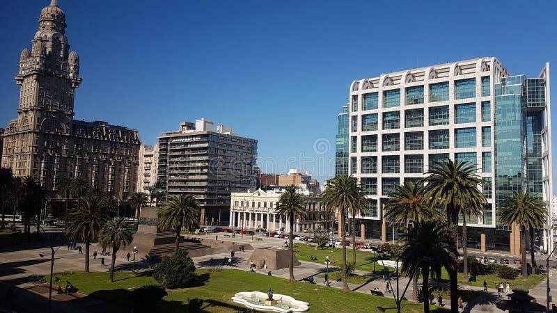 Plaza Independencia images libres de droits