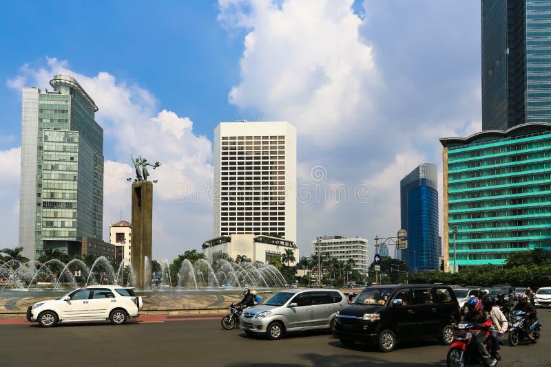 Plaza Indonésie de Jakarta image libre de droits