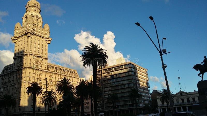 Plaza Intependencia immagini stock libere da diritti