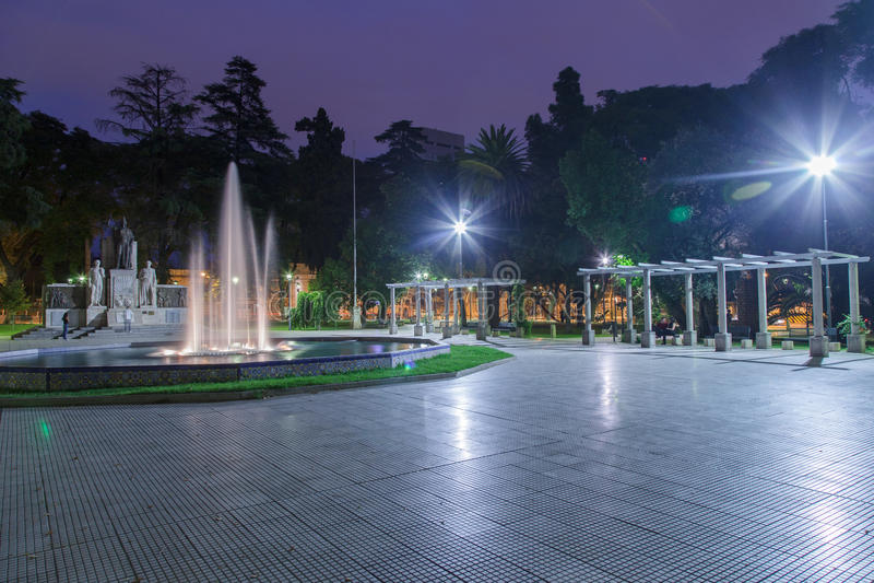 Download Plaza Italia Mendoza Argentina Stock Photo - Image: 25822880