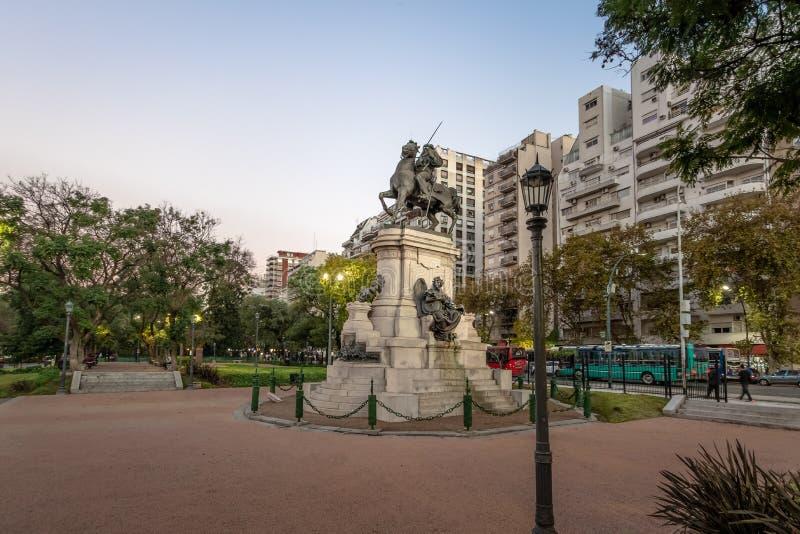 Plaza Italia in Palermo - Buenos Aires, Argentina. Plaza Italia in Palermo in Buenos Aires, Argentina stock image