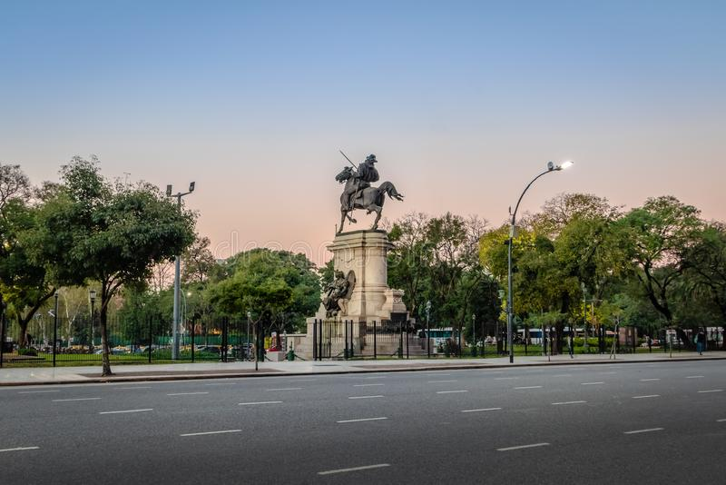 Plaza Italia in Palermo - Buenos Aires, Argentina. Plaza Italia in Palermo in Buenos Aires, Argentina royalty free stock image