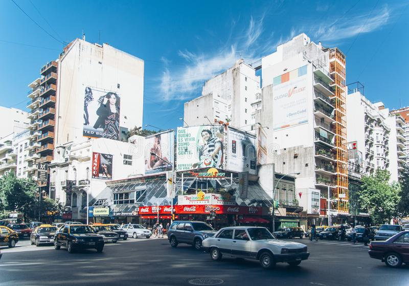Plaza Libertador γενικό SAN Martin, Μπουένος Άιρες, Αργεντινή στοκ φωτογραφίες με δικαίωμα ελεύθερης χρήσης