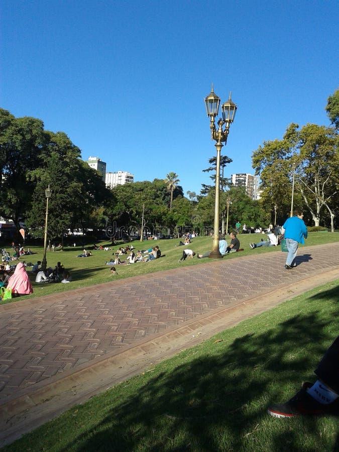 Plaza Manuel Belgrano στοκ εικόνες
