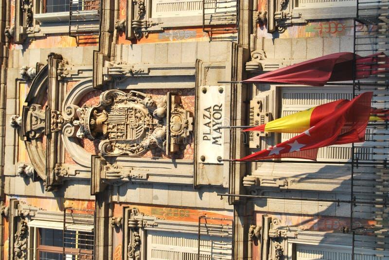 Download Plaza Mayor Madrid stock photo. Image of blue, square - 24415148