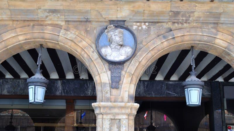 The Plaza Mayor In Salamanca Stock Image