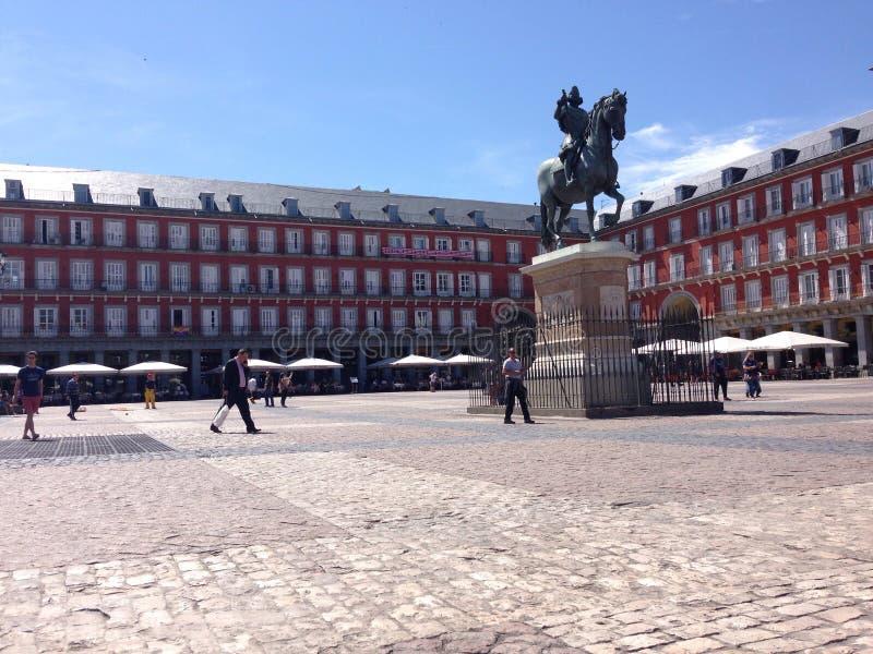 Plaza Mayor stock photography