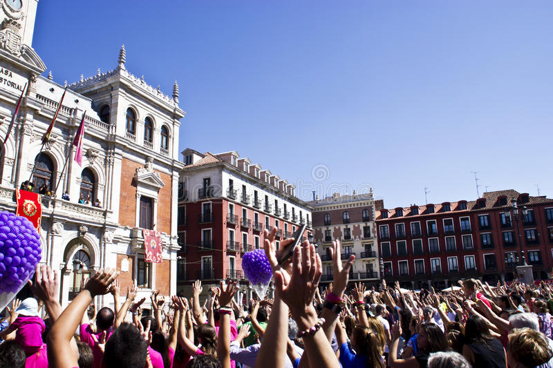 Download Plaza Mayor In Valladolid Editorial Stock Photo - Image: 33509928