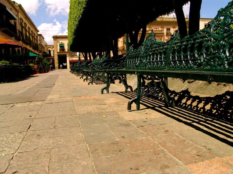 Plaza Mexicana Do Assento Imagens de Stock