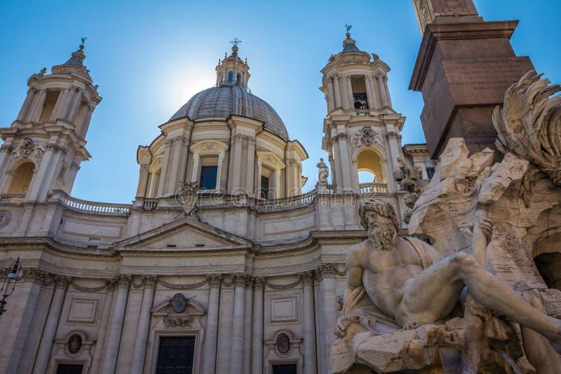 Download Plaza Navona En Roma, Italia Foto de archivo - Imagen de capital, ciudad: 41900364