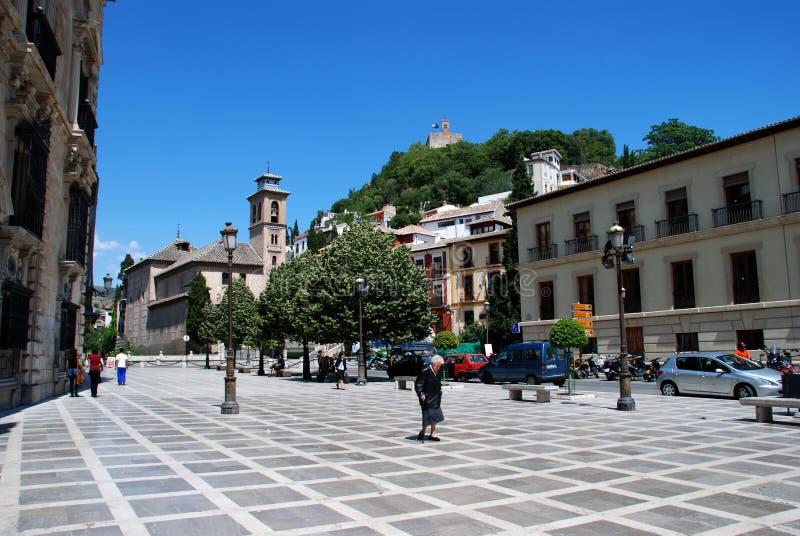 Plaza Nueva do La, Granada imagens de stock royalty free