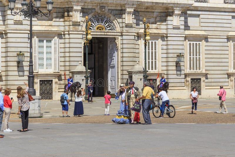 Plaza Oriente, Μαδρίτη στοκ εικόνες με δικαίωμα ελεύθερης χρήσης