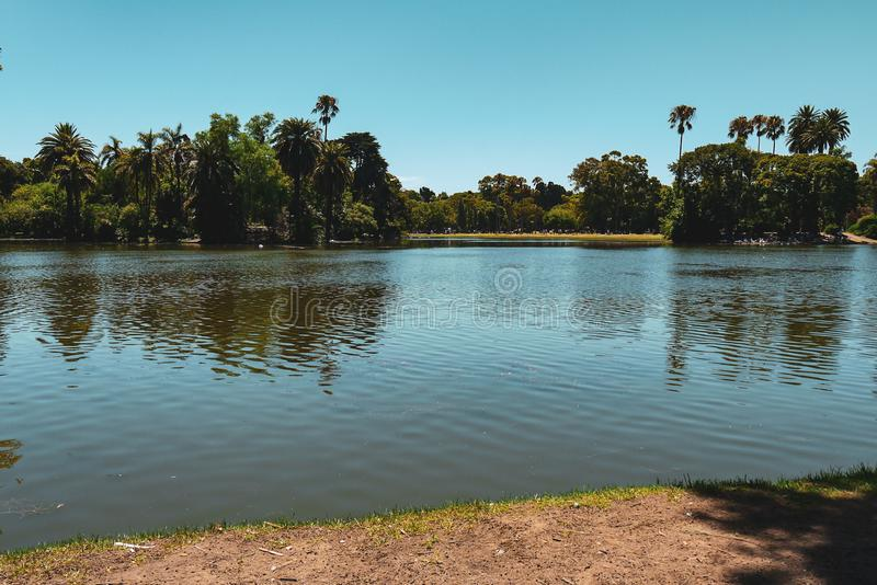 Plaza próxima real san Martin do parque em Buenos Aires fotos de stock royalty free