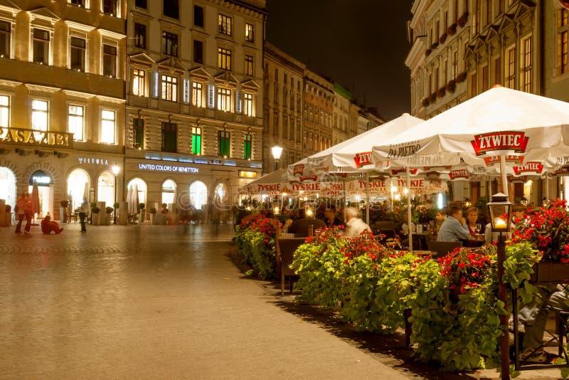 Plaza principal de Kraków imagen de archivo libre de regalías