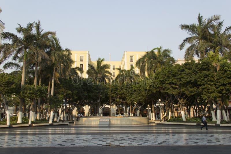 Plaza principal de Veracruz foto de archivo