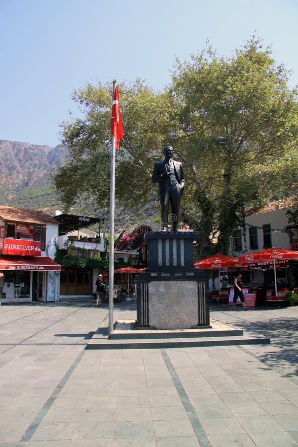 Plaza principal - Kas fotografía de archivo libre de regalías