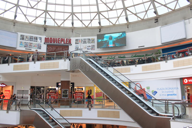 Plaza Romania imagens de stock