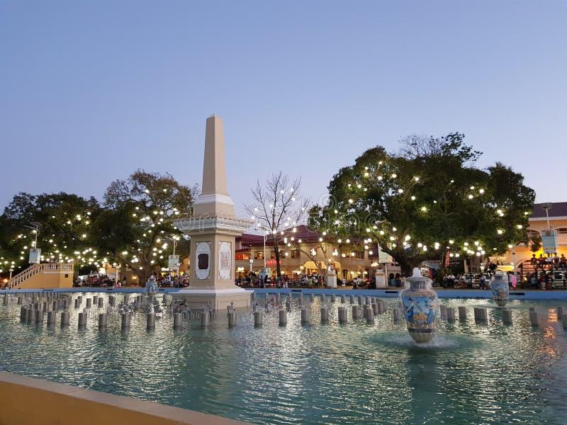 Plaza Salcedo immagine stock