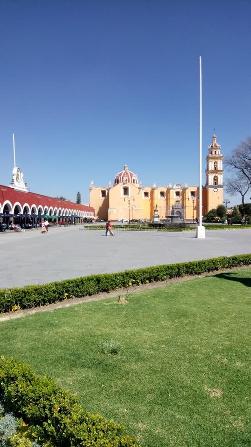Plaza stock image