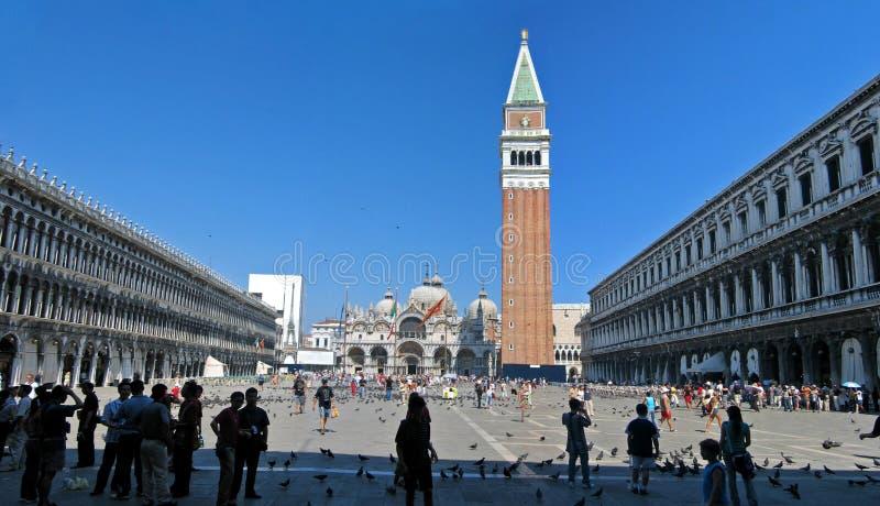 Plaza San Marco imagen de archivo