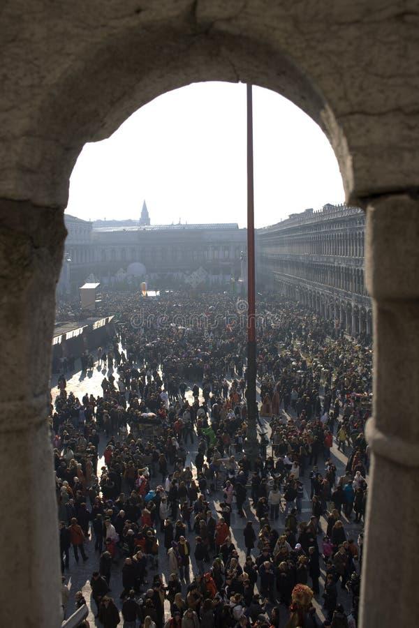Plaza San Marco imagenes de archivo