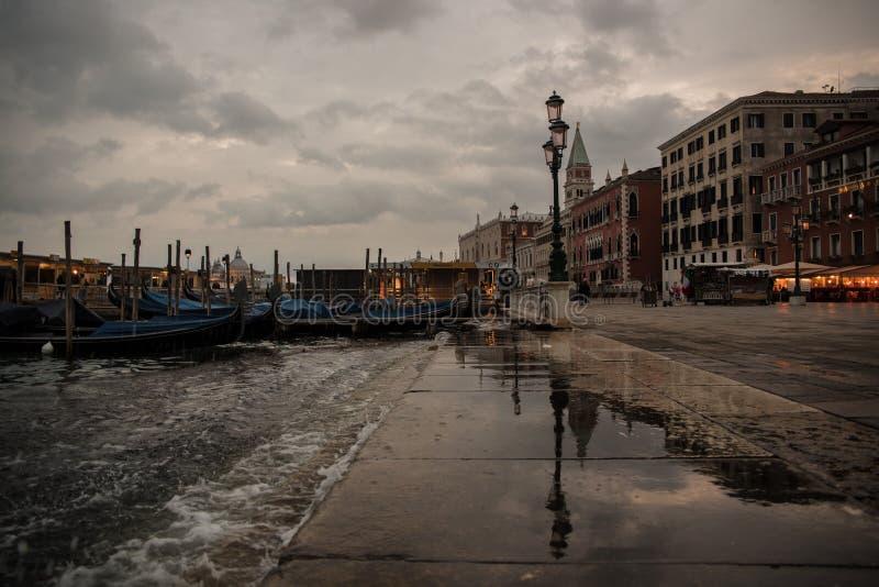 Plaza San Marco, Venezia, Italia imagen de archivo libre de regalías