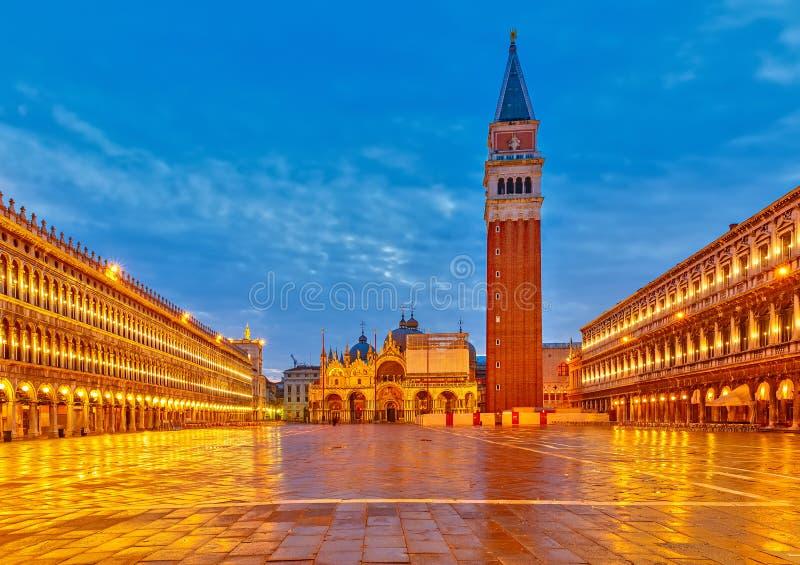 Plaza San Marko, Venecia fotos de archivo